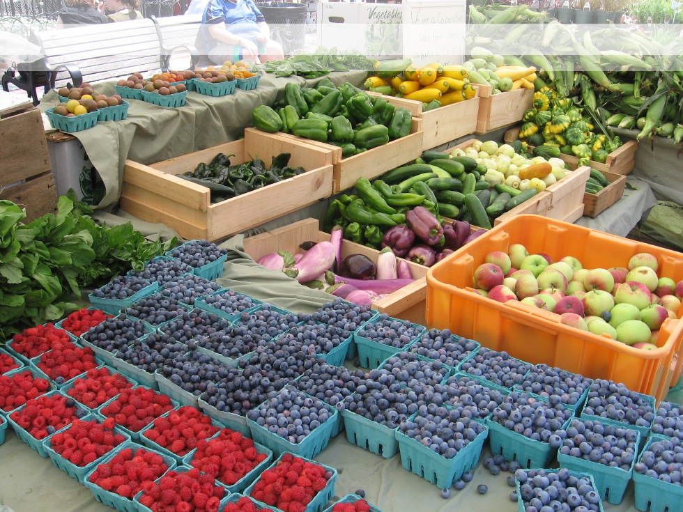Market Fruits and Vegetables