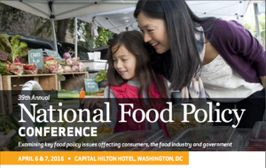 39th Annual National Food Policy Conference